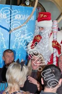 Дед Мороз на копроративе